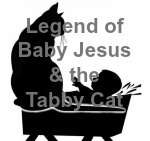 Baby Jesus and the tabby cat secondary